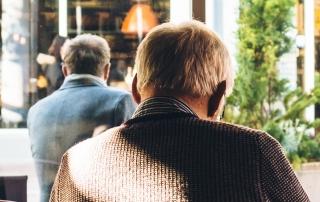 Hombres mayores Prostatectomia